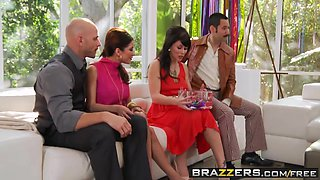 Brazzers Main Channel - Aleksa Nicole Brooklyn Lee Johnny Sins Keiran Lee - Key Party-