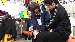 Yuri hyuga schoolgirl
