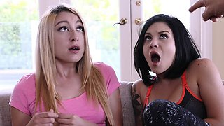 DaughterSwap- Fucking the lesbian out of there daughters