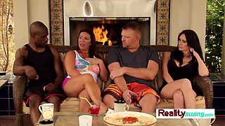 Trish and Jp join others for foreplay
