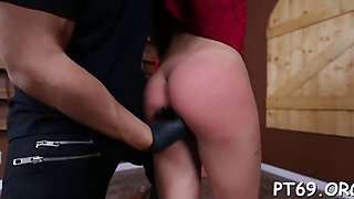petite babe gets abused in sex