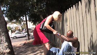 Mandy Sweet Picks Up A Black Guy And Fucks His BBC
