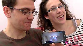 Mad Martin sharing lusty Fabiola with her husband Jonhy
