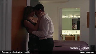 Christa B Allen hot and sexy in Dangerous Seduction movie