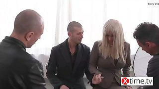 russian model gang bang with big italian cocks