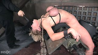 hottie milf getting punished real hard
