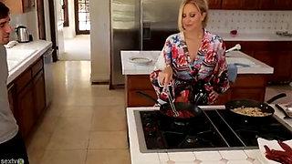 Housewife Julia Ann fucks son in law
