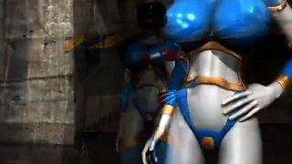 Sei Doreinjaa Ryoujoku no Sentai Hiroin vol.1 3D