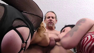 Krissy and Cassidy Lynn 2 sisters 1 cock