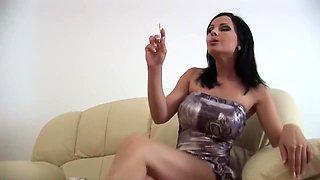 human ashtray, beautiful babe smoking_011