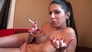 jessi smoking jerf-off intructions