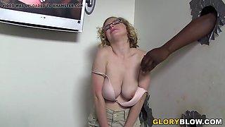 Penny Pax Discovers Black Cocks - Gloryhole