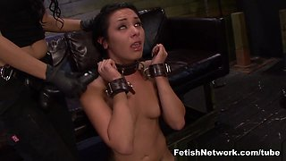 Amazing pornstars Lexy Villa, Brooklyn Daniels, Abbi Roads in Exotic Femdom, Redhead porn scene