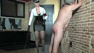 MILF Mistress trains her slave
