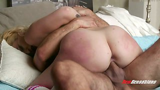 Tempting babe Carmen Callaway is making love with her boyfriend