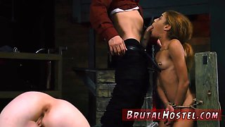 Rough bdsm kink When hes ended brutally penetrating his pallid plaything he glazes her