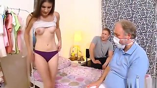 Fella Assists With Hymen Examination And Nailing Of Virgin S