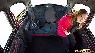 little redhead linda pays for her cab with her cooch