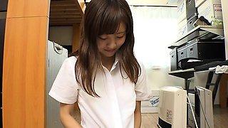 Japanese Bus Girls In Uniform Public 180287