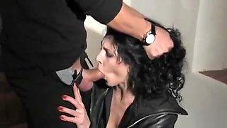 Sexy italian milf forced