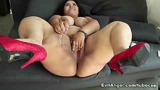 Fabulous pornstars Misha Cross, Karla Lane, Mark Wood in Incredible BBW, Latina xxx movie