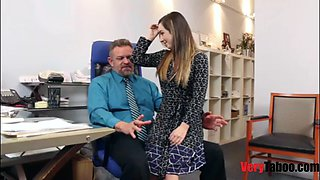 Boss fucks all the interns,including his daughter