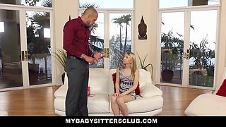 Babysitter gets punished on Valentine's Day