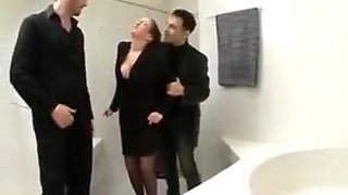 Big saggy tits italian dp bbc