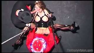 Lesbian sex with two horny and seducted babes with their sex toys