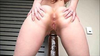 ashley alban- a bbc in ash's ass