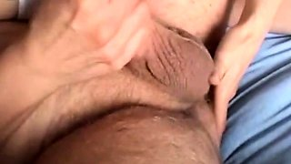 sexy wife tickles his prostate