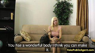 Casting model cocksucks midget agent POV