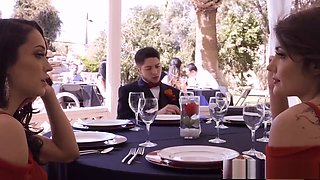 Bridesmaids seduce the groom for revenge