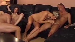 threesome turns into foursome