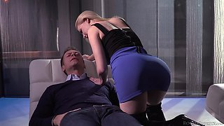 Oral worship and harsh domination with Maddy O'Reilly and others