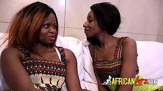 African lesbians kissing sex at hotel