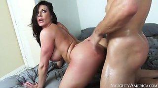 Naughty america kendra lust fucking in the bedroom