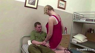 Female MILF Teacher Seduce Young Boy to Fuck on Excurse