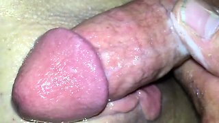 Monster Dick Pounds A Tight Shaved Cunt