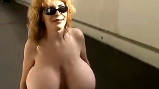 Naked and flashing in public!