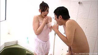 Lustful Egami Shiho and her partner ready to have some hot action