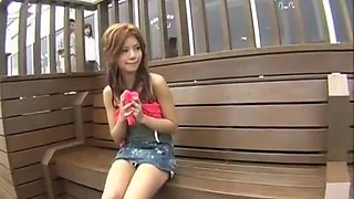 Akane Hotaru lovely Asian doll hard part3