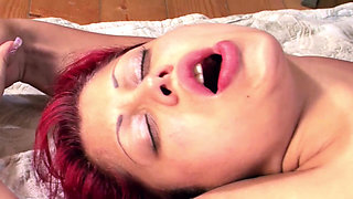 PREGNANT REDHEAD MATURE WITH SAGGY TIT JUDITH SEX IN 9 MONTH