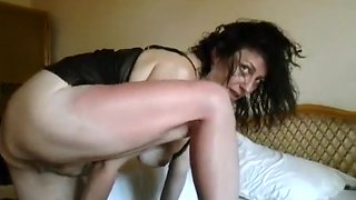 Fabulous Amateur movie with Brunette, Smoking scenes