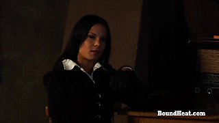 No Escape 2: Mistress Enjoys Watching Slave Punishment