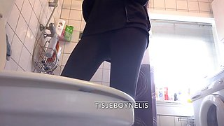 Sister Bathroom Spy cam