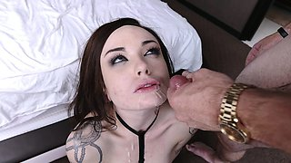 PunishTeens- Caught Masturbating and Punished By Her Daddy