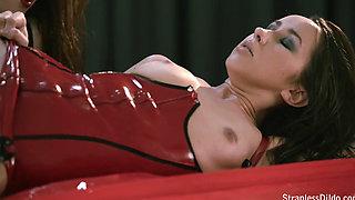 Jane   Lesbian Lust in Lubed Latex