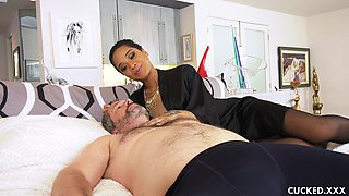 Interracial action with Honey Gold, Jimmy Broadway and T Stone