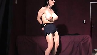 Shy gal gets tied up and manhandled in bondage scene